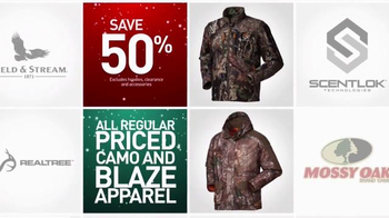 Dick's Sporting Goods Holiday Sale TV Spot, 'Fleeces, Camo and Cabin Socks' - Thumbnail 6