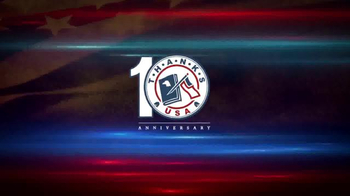 ThanksUSA TV Spot, 'Ten Years of Thanking the Troops'