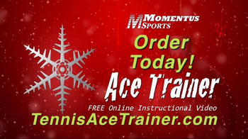 Momentus Sports Ace Trainer TV Spot, 'Holiday Surprise'