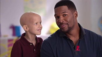 St. Jude Children's Research Hospital TV Spot, 'Thanks and Giving: Strahan' - 64 commercial airings