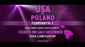 United States Tennis Association TV Spot, '2016 Fed Cup: USA vs. Poland' - Thumbnail 10