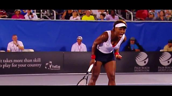United States Tennis Association TV Spot, \'2016 Fed Cup: USA vs. Poland\'