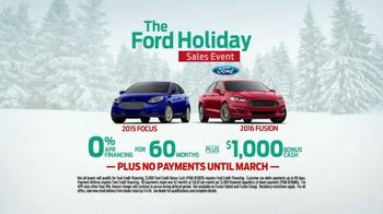 Ford Holiday Sales Event TV Spot, 'Holiday Bonus Cash' - Thumbnail 8