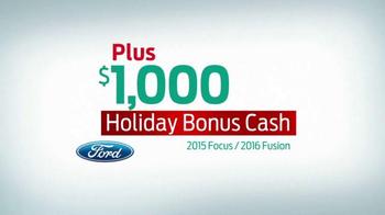 Ford Holiday Sales Event TV Spot, 'Holiday Bonus Cash' - Thumbnail 5