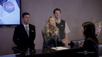 Hyatt Regency TV Spot, 'Comedy Central: New Material' Ft. Iliza Shlesinger - 70 commercial airings