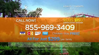 Summer Bay Orlando Winter Special TV Spot, 'Get Away' - Thumbnail 4