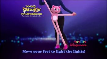 Go & Glo StretchKins TV Spot, 'Flash and Glow' - 5 commercial airings