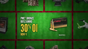 Cabela's Christmas Sale TV Spot, 'Pistols and Ammo' - Thumbnail 6