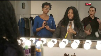 Slim Jim TV Spot, 'ESPN: The Polamalu Hair' Featuring Ryan Clark