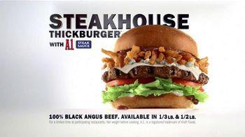Carl's Jr. Steakhouse Thickburger TV Spot, 'Table Setting' Song by Pantera - Thumbnail 8