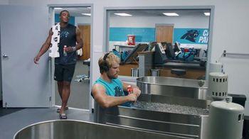 Gatorade Recover TV Spot, 'Lucky Tank' Featuring Cam Newton, Greg Olsen - 1053 commercial airings