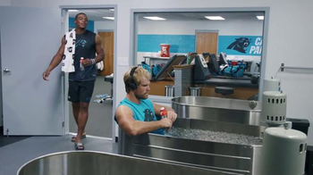 Gatorade Recover TV Spot, 'Lucky Tank' Featuring Cam Newton, Greg Olsen - 1053 commercial airings