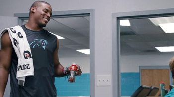 Gatorade Recover TV Spot, 'Lucky Tank' Featuring Cam Newton, Greg Olsen - Thumbnail 3