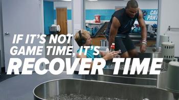 Gatorade Recover TV Spot, 'Lucky Tank' Featuring Cam Newton, Greg Olsen - Thumbnail 6