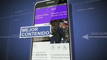 Univision Noticias App TV Spot, 'Alertas' [Spanish]