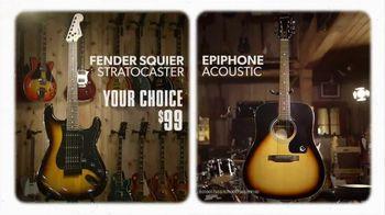 Guitar Center Holiday Savings TV Spot, 'Squier, Epiphone and Ernie Ball' - Thumbnail 5