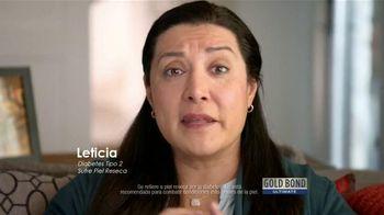 Gold Bond Ultimate TV Spot, 'Piel de diabéticos' [Spanish] - 539 commercial airings