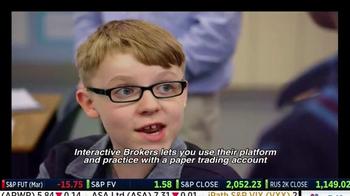Interactive Brokers TV Spot, 'Paper Trading Account' - Thumbnail 3