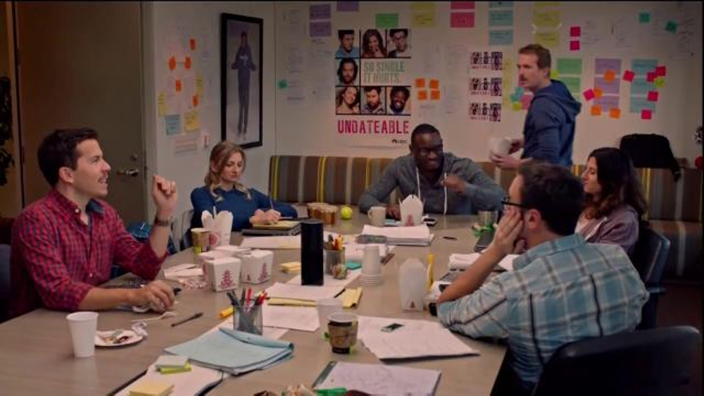 Amazon Echo TV Commercial, 'Undateable Writer's Room: Alexa's Joke'