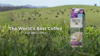 Organic Valley Half & Half TV Spot, 'The World's Best Coffee' - Thumbnail 8