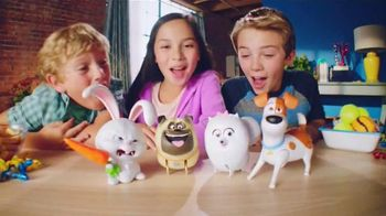 Spin Master TV Spot, 'The Secret Life of Pets: Walking, Talking Pets' - 452 commercial airings