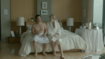 Booking.com TV Spot, 'Romantic Escape' Featuring Jane Lynch, Bobby Lee - Thumbnail 6