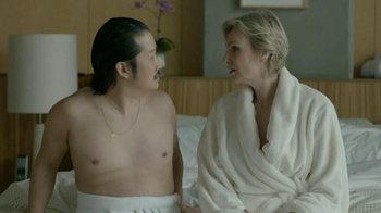 Booking.com TV Spot, 'Romantic Escape' Featuring Jane Lynch, Bobby Lee - Thumbnail 9