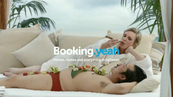 Booking.com TV Spot, 'Sushi' Featuring Jane Lynch, Bobby Lee - Thumbnail 5