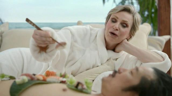 Booking.com TV Spot, 'Sushi' Featuring Jane Lynch, Bobby Lee - Thumbnail 2