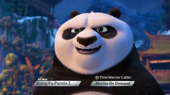 Time Warner Cable On Demand TV Spot, 'Kung Fu Panda 3'