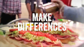 Jersey Mike's TV Spot, 'The Sub Above Difference: Meals Above' - Thumbnail 2