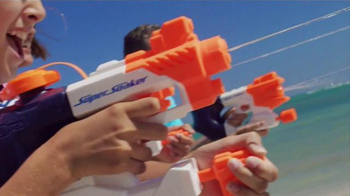 Nerf Super Soaker TV Spot, 'Cartoon Network: Beach Ambush' - Thumbnail 8