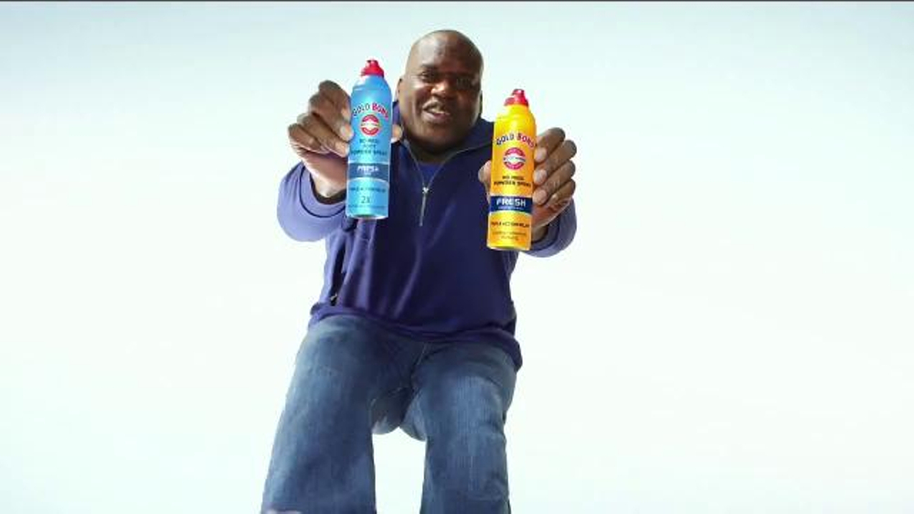 Gold Bond Foot Powder Spray TV Commercial, 'Cool Feet' Featuring Shaquille O'Neal