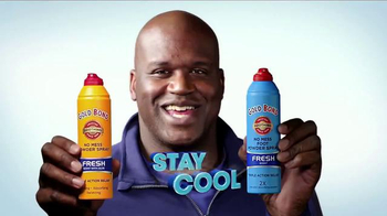 Gold Bond Foot Powder Spray TV Spot, 'Cool Feet' Featuring Shaquille O'Neal - Thumbnail 8