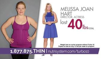 Nutrisystem Turbo10 TV Spot, 'This Summer' Featuring Melissa Joan Hart - Thumbnail 2