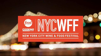 2016 New York City Wine & Food Festival TV Spot, 'Join the Stars'