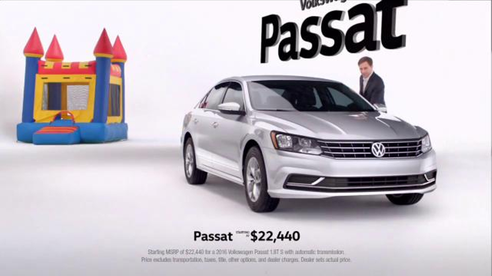 2016 Volkswagen Passat TV Commercial, 'Party Animals: June Offer' - iSpot.tv