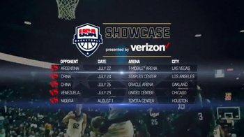 USA Basketball TV Spot, '2016 Showcase' - Thumbnail 3