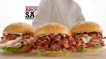 Arby's Brown Sugar Bacon Sandwiches TV Spot, 'Brown Sugar Pig' - Thumbnail 8