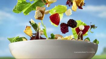 Wendy's Summer Berry Chicken Salad TV Spot, 'Summer' - Thumbnail 10