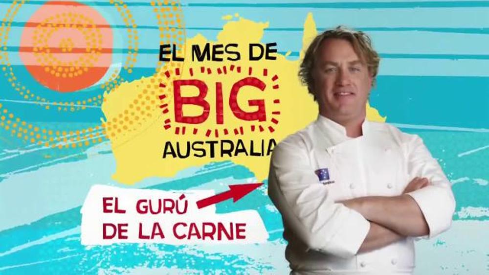 Outback Steakhouse El Mes de Big Australia TV Commercial, 'Gran Cena'