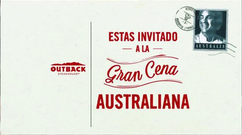 Outback Steakhouse El Mes de Big Australia TV Spot, 'Gran Cena' [Spanish] - Thumbnail 1