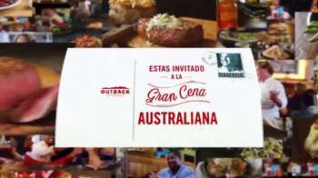Outback Steakhouse El Mes de Big Australia TV Spot, 'Gran Cena' [Spanish] - Thumbnail 2