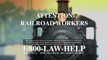 Kresch & Lee TV Spot, 'Railroad Workers'