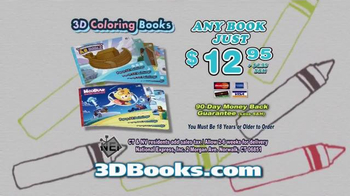 3D Coloring Books TV Spot, 'New and Exciting' - Thumbnail 10
