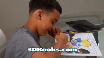 3D Coloring Books TV Spot, 'New and Exciting' - Thumbnail 5