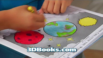 3D Coloring Books TV Spot, 'New and Exciting' - Thumbnail 9