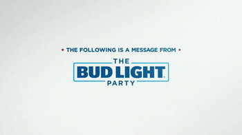 Bud Light TV Spot, 'Bud Light Party: Equal Pay' Ft. Amy Schumer, Seth Rogen - Thumbnail 1
