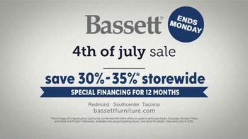 Bassett 4th of July Sale TV Spot, 'Design Studio: Furniture' - Thumbnail 8