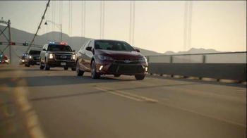 2017 Toyota Camry TV Spot, 'Presidential Escort' Song by El Chuape - Thumbnail 4